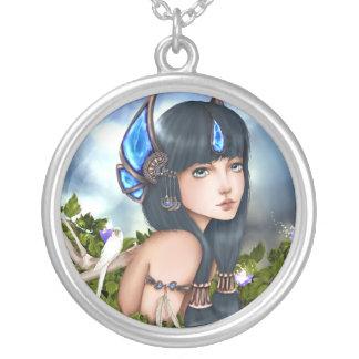 Fantasy Neclace Round Pendant Necklace