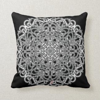 Fantasy Octa Glyph Throw Pillow