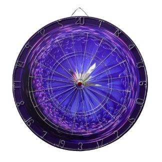 Fantasy orb in blue dart board