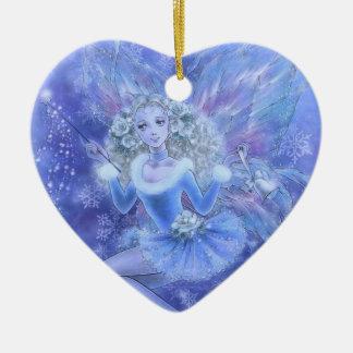 Fantasy Ornament - Blue Christmas Fairy