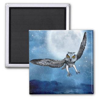 fantasy owl magnet