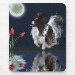 FANTASY PAPILLON DOG Mousepad