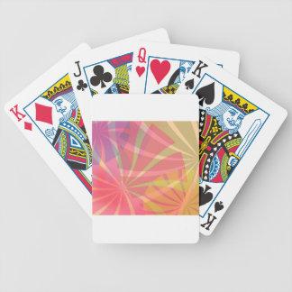 Fantasy Pattern Bicycle Poker Deck