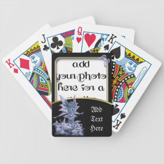 Fantasy Photo Frame Template Playing Cards