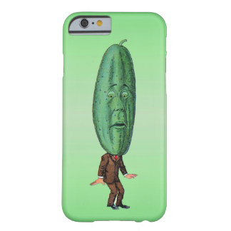 Fantasy Pickle Man Brown Suit Barely There iPhone 6 Case