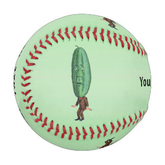 Fantasy Pickle Man Brown Suit Baseball