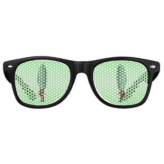 Fantasy Pickle Man Brown Suit Retro Sunglasses