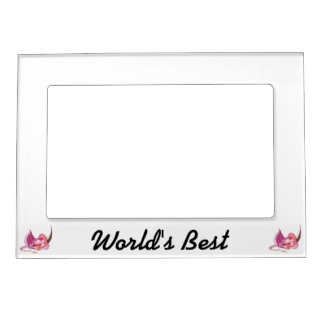 Fantasy Pink Dragon.png Magnetic Picture Frame