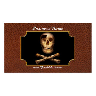 Fantasy - Pirate Flag - I'm a mighty pirate Business Card