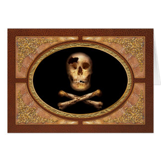 Fantasy - Pirate Flag - I'm a mighty pirate Card