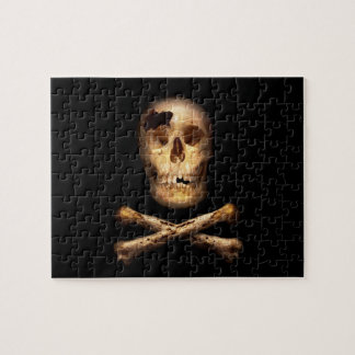 Fantasy - Pirate Flag - I'm a mighty pirate Jigsaw Puzzle