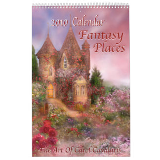 Fantasy Places 2010 Calendar