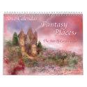 Fantasy Places 2010 Calendar calendar