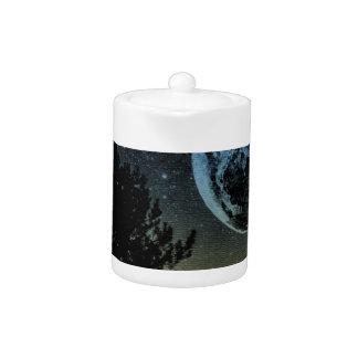 Fantasy planet teapot