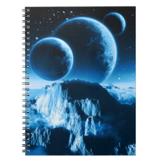 Fantasy Planets Notebook