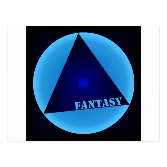 fantasy postcard