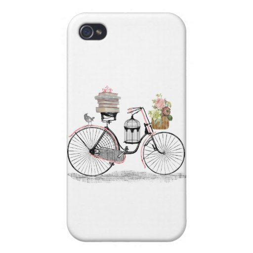 Fantasy push bike iPhone 4/4S case