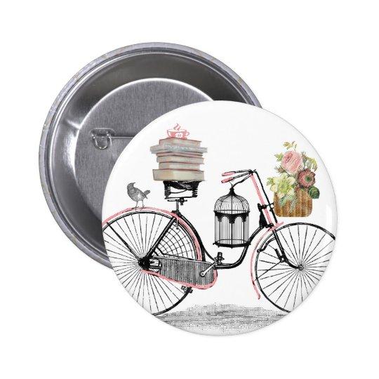Fantasy push bike pinback button