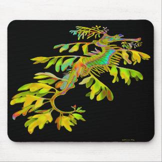 Fantasy Rainbow Leafy Sea Dragon Mousepad