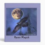 Fantasy Raven Binder