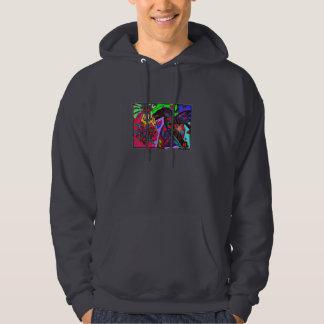 Fantasy Raven heart hoodie
