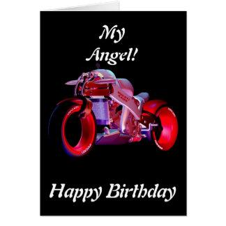 Fantasy Ride!  My Angel - Birthday Card