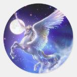 fantasy round sticker