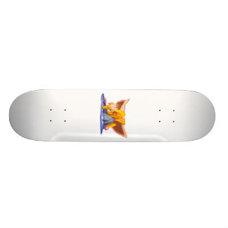 Fantasy Sad Old Dragon Skateboard