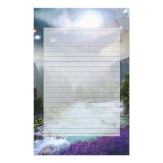 Fantasy Scenic Nature Landscape Stationery