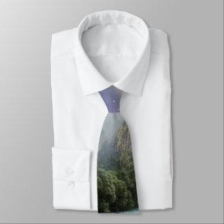 Fantasy Scenic Rainforest Landscape Neck Tie