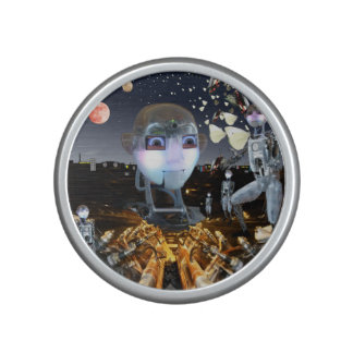 Fantasy science fiction theme speaker