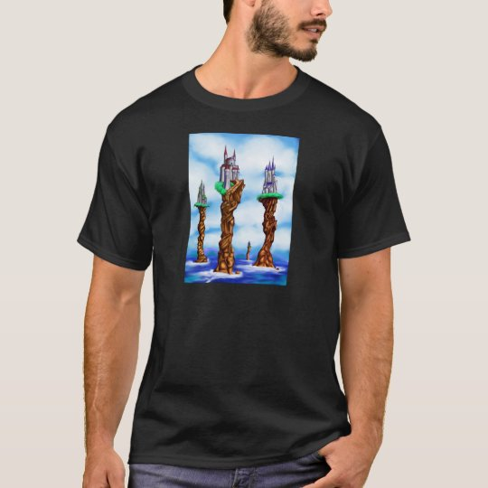 Fantasy Sea Castles T-Shirt