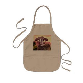 Fantasy seascape kids' apron