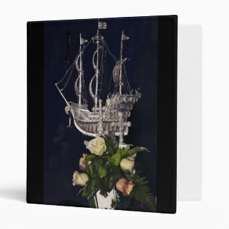 fantasy ship 3 ring binder