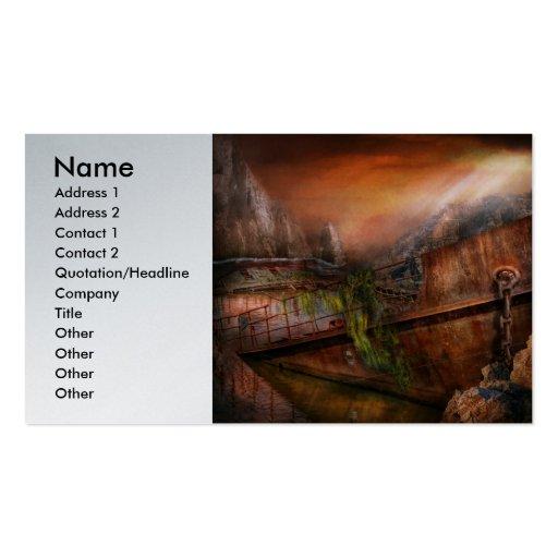 Fantasy - Ship Wrecked Business Card