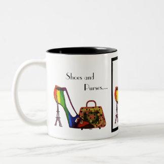 Fantasy Shoe and Purse Mug