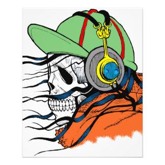 Fantasy Skull Design Flyer