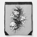Fantasy Skulls Drawstring Bag