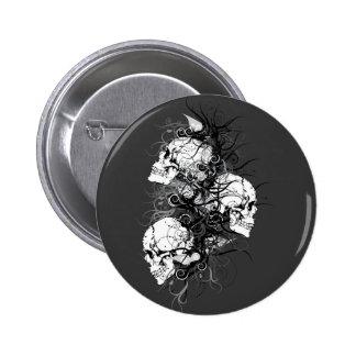 Fantasy Skulls Pinback Button