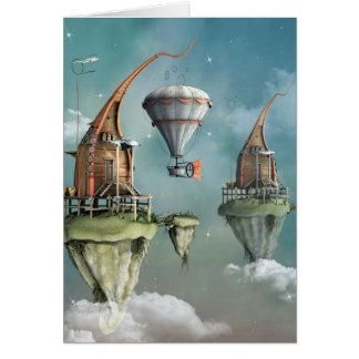 Fantasy sky abode card