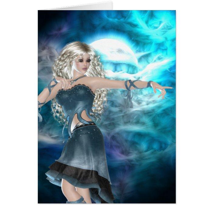 Fantasy Sky Siren Card