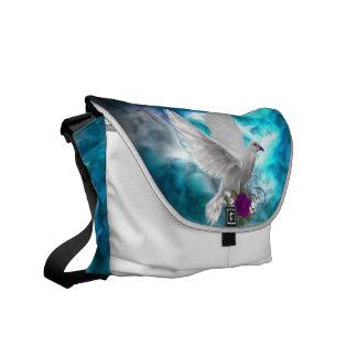Fantasy Sky Siren Courier Bag