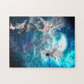 Fantasy Sky Siren Jigsaw Puzzle