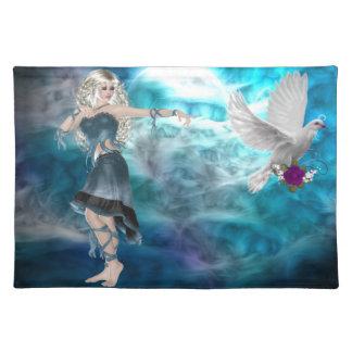 Fantasy Sky Siren Place Mat