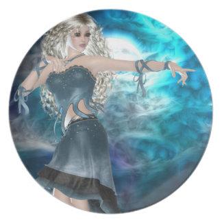 Fantasy Sky Siren Plates