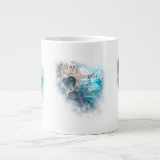 Fantasy Sky Siren Vignette Giant Coffee Mug