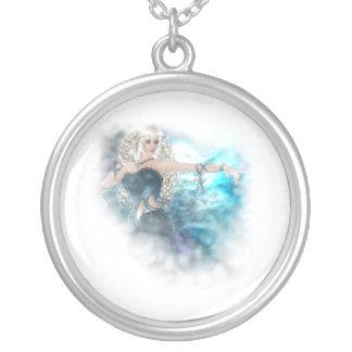 Fantasy Sky Siren Vignette Pendant