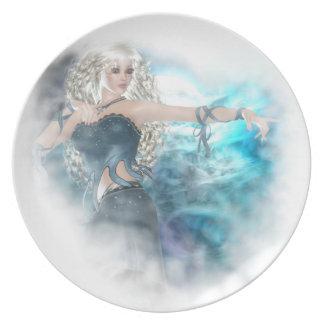 Fantasy Sky Siren Vignette Dinner Plates