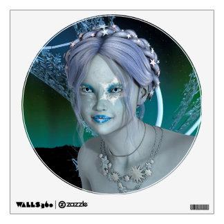 Fantasy Snow Fairy Wall Sticker