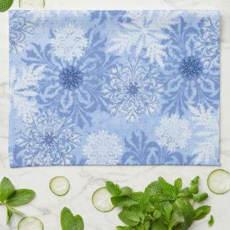 Fantasy Snowflakes 2 Kitchen Towels